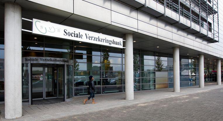 Kantoor van de Sociale Verzekeringsbank in Rotterdam. Beeld ANP