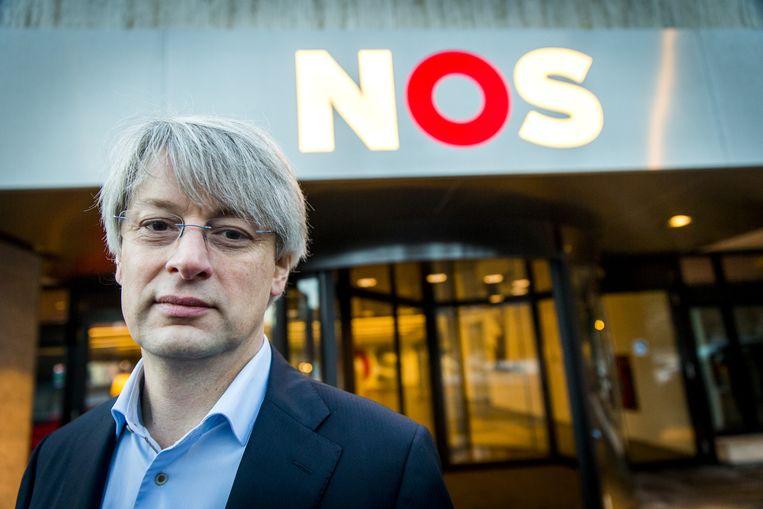Marcel Gelauff, hoofdredacteur van de NOS.  Beeld null