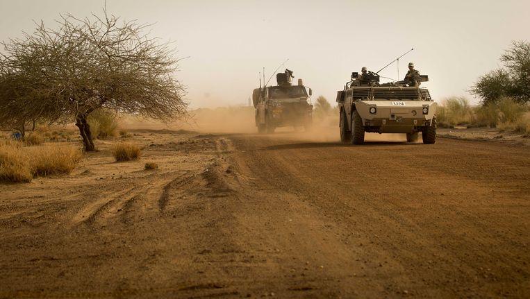 In Mali zijn ook Nederlandse militairen gelegerd Beeld ANP