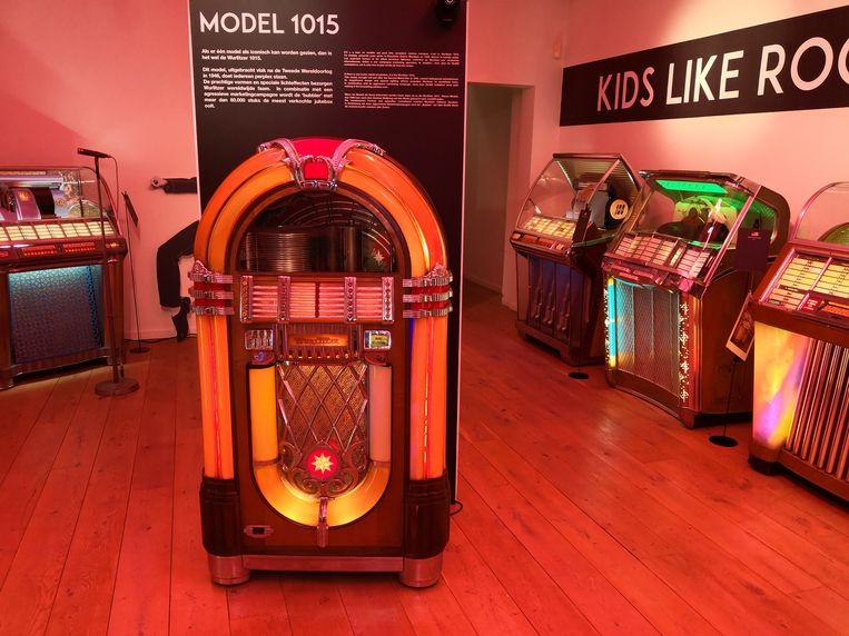 Een van de pronkstukken in het nieuwe jukeboxmuseum in De Panne, dat voorlopig gesloten blijft.