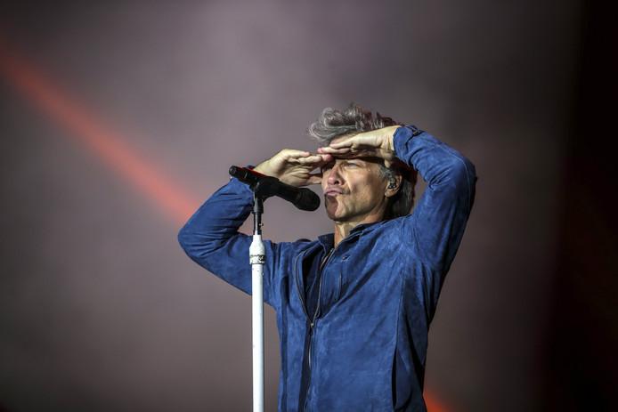 Jon Bon Jovi op archiefbeeld.