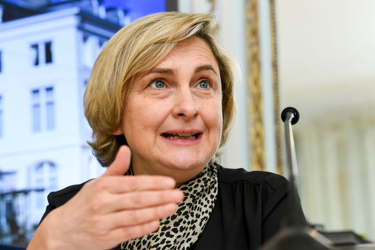 Vlaams minister van Economie Hilde Crevits. Beeld BELGA