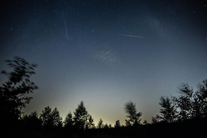 Meteorietenzwerm Perseiden zorgt jaarlijks voor veel vallende sterren.
