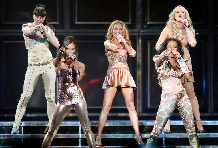 De Spice Girls in 2007. Beeld epa