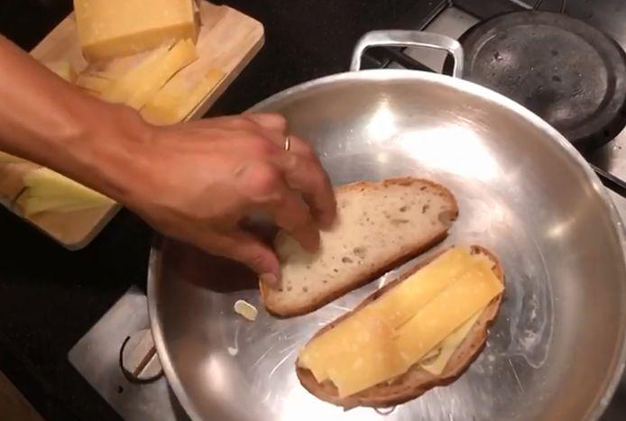 Zo maakt chef-kok Joris Bijdendijk de lekkerste tosti.