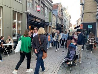 Najaarszon lokt massa volk naar centrum-Gent