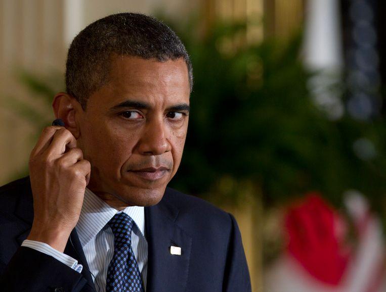 Aftredend president Barack Obama. Beeld AP