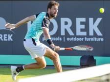 Haase blijft in tweede ronde Rosmalen steken, Goffin naar kwartfinale