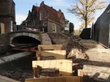 'Riskante' Vrouwe van Rijnsburgerbrug voorzien van leuning