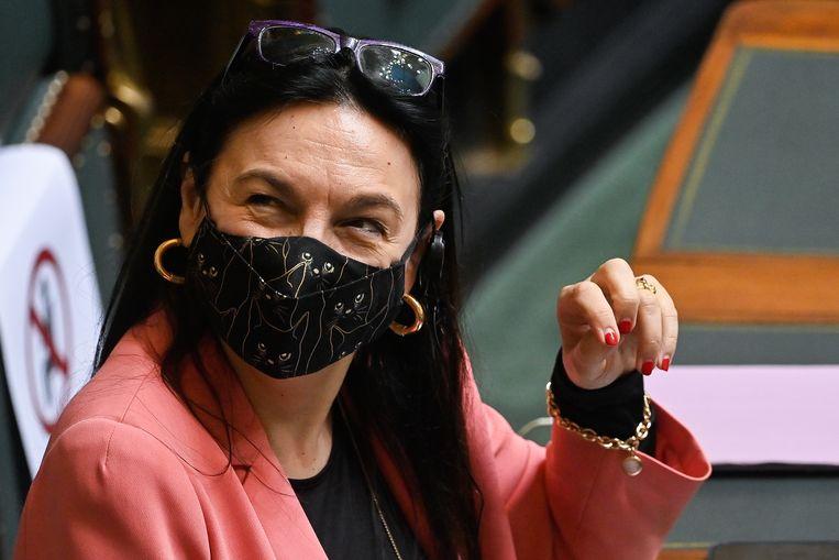 Ex-minister van Energie Marie-Christine Marghem (MR, foto) heeft zich de laatste maanden ontpopt tot één van de grootste critici van huidig energieminister Tinne Van der Straeten (Groen). Beeld BELGA