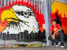 Ambassadeurszoon Bourhane zoekt op weg naar Afrika Cup het geluk bij GA Eagles: 'Tegenslag is niet nieuw voor mij'