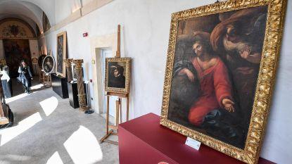 Peperdure gestolen kunstwerken zijn in Italiaanse luxevilla's beland
