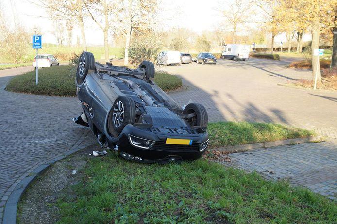 Ongeluk in Woudrichem.
