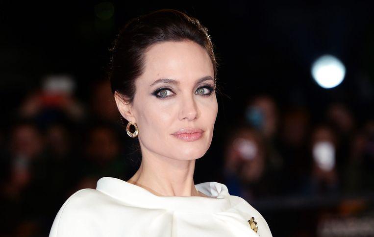 Angelina Jolie eind november bij de première van Unbroken in Londen. Beeld null