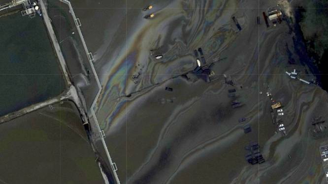 Onderzoek naar olielek in Louisiana na orkaan Ida
