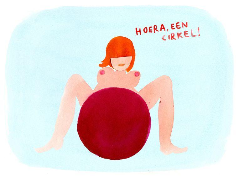 null Beeld illustratie Claudie de Cleen