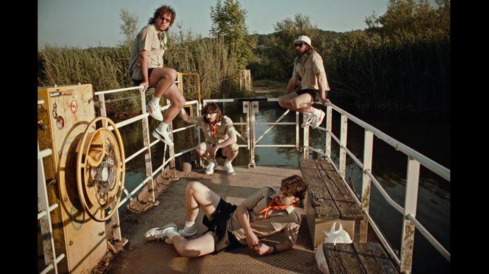 De videoclip Nijmegen van 4B2M