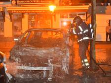 Drie auto's in brand in Bergeijk