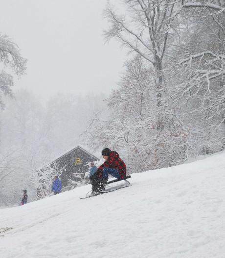 Waar viel in Nederland de meeste sneeuw?
