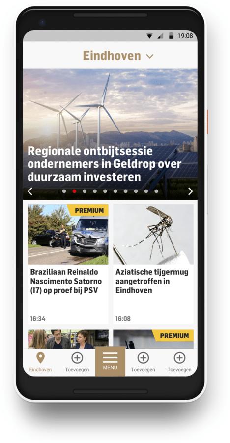 De regio-pagina.