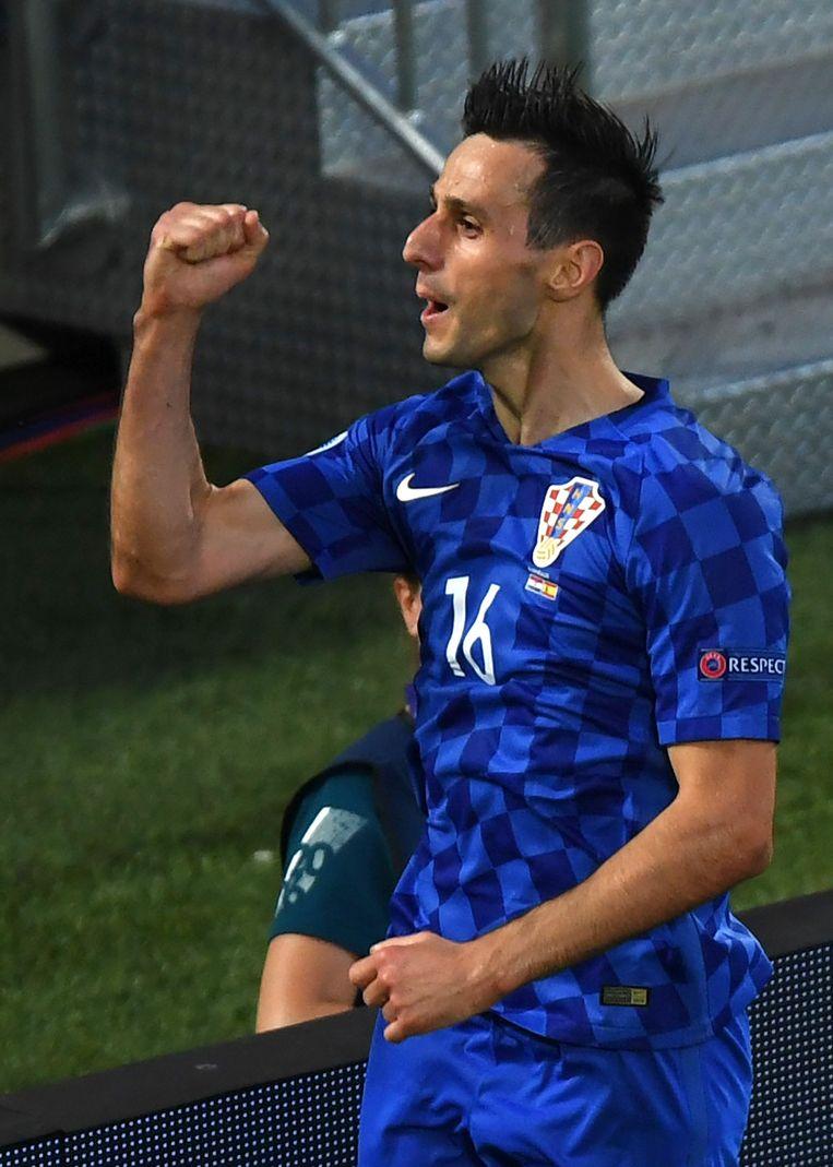 Kalinic speelde uitstekend ter vervanging van Mandzukic Beeld AFP