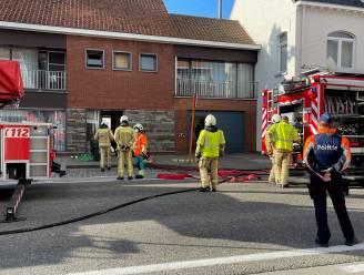 Schouwbrand in rijhuis in Stationsstraat