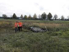 Opa en twee kleinkinderen belanden met auto in greppel langs A73