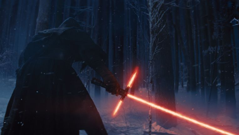 Star Wars: Episode VII: The Force Awakens, vooralsnog de enige franchise die wegraakt met zo'n ridicule titel. Beeld rv