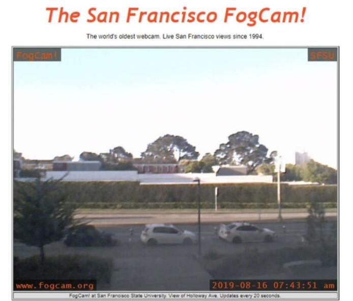 De FogCam in actie.
