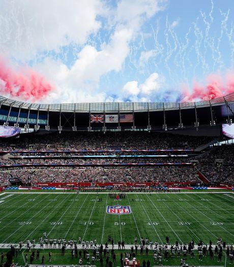 Geen Kane en Son, maar NFL-vedettes in Tottenham Hotspur Stadium