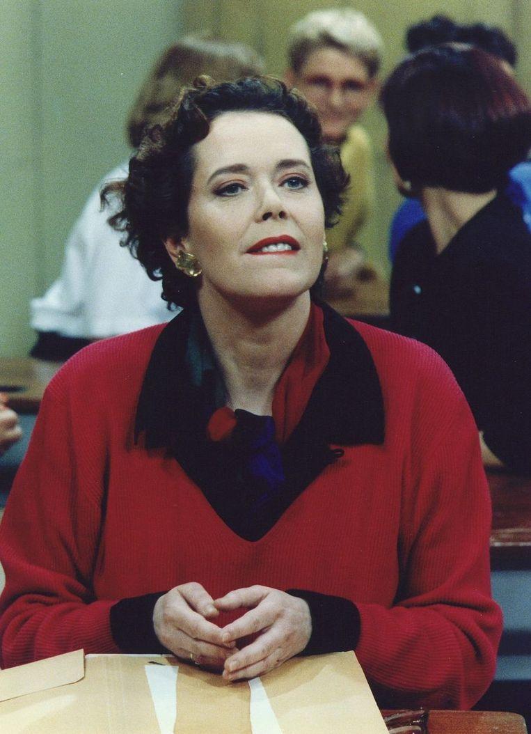 Sylvia Kristel in 1992. Beeld null