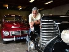 Autofanaat Ubbo Borgesius (75) uit Goor leeft voor zijn 'golden oldies': 'Ik moet ze elke dag even aanraken, ermee praten'