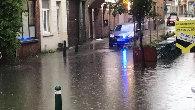 Hoge waterpeil Zenne veroorzaakt overstroming op laagste punt in Halle