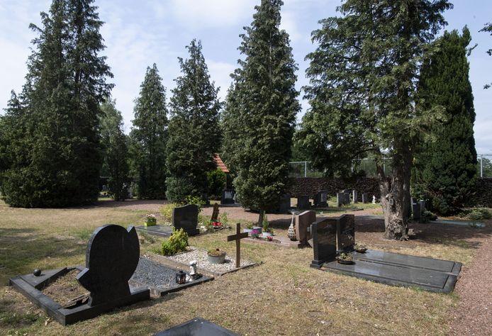 De gemeentelijke begraafplaats  in Losser aan de Bookholtlaan is opnieuw de goedkoopste van heel Nederland.