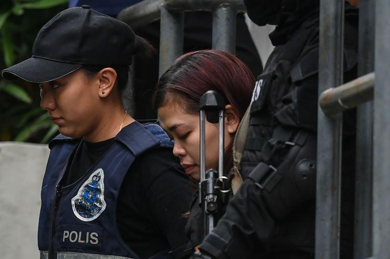 De Indonesische verdachte Siti Aisyah.