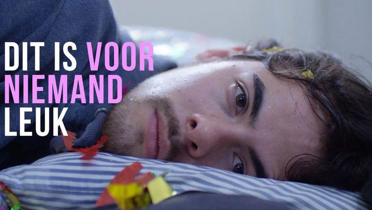 Screenshot uit de trailer van Dit Is Voor Niemand Leuk Beeld Martijn Lenten