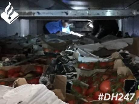 Acht jonge illegalen uit Eritrea in Waddinxveen aangetroffen in vrachtwagen tussen lading tomaten