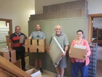 Heemkundig Genootschap is verhuisd: meer dan vijfhonderd dozen Beersels erfgoed vinden nieuw onderkomen