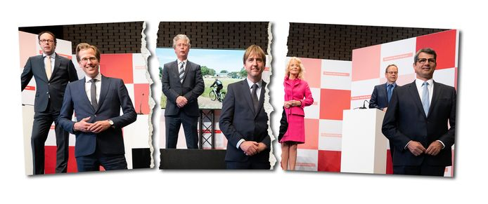 De coalitie die vorig jaar in Brabant werd gepresenteerd is gescheurd.