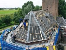 Nieuw dak voor de protestantse kerk van Heesselt