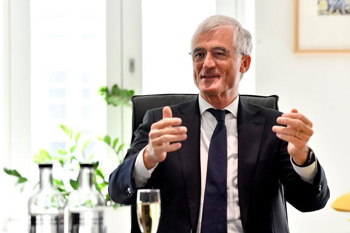 Geert Bourgeois, tête de liste N-VA à l'Europe