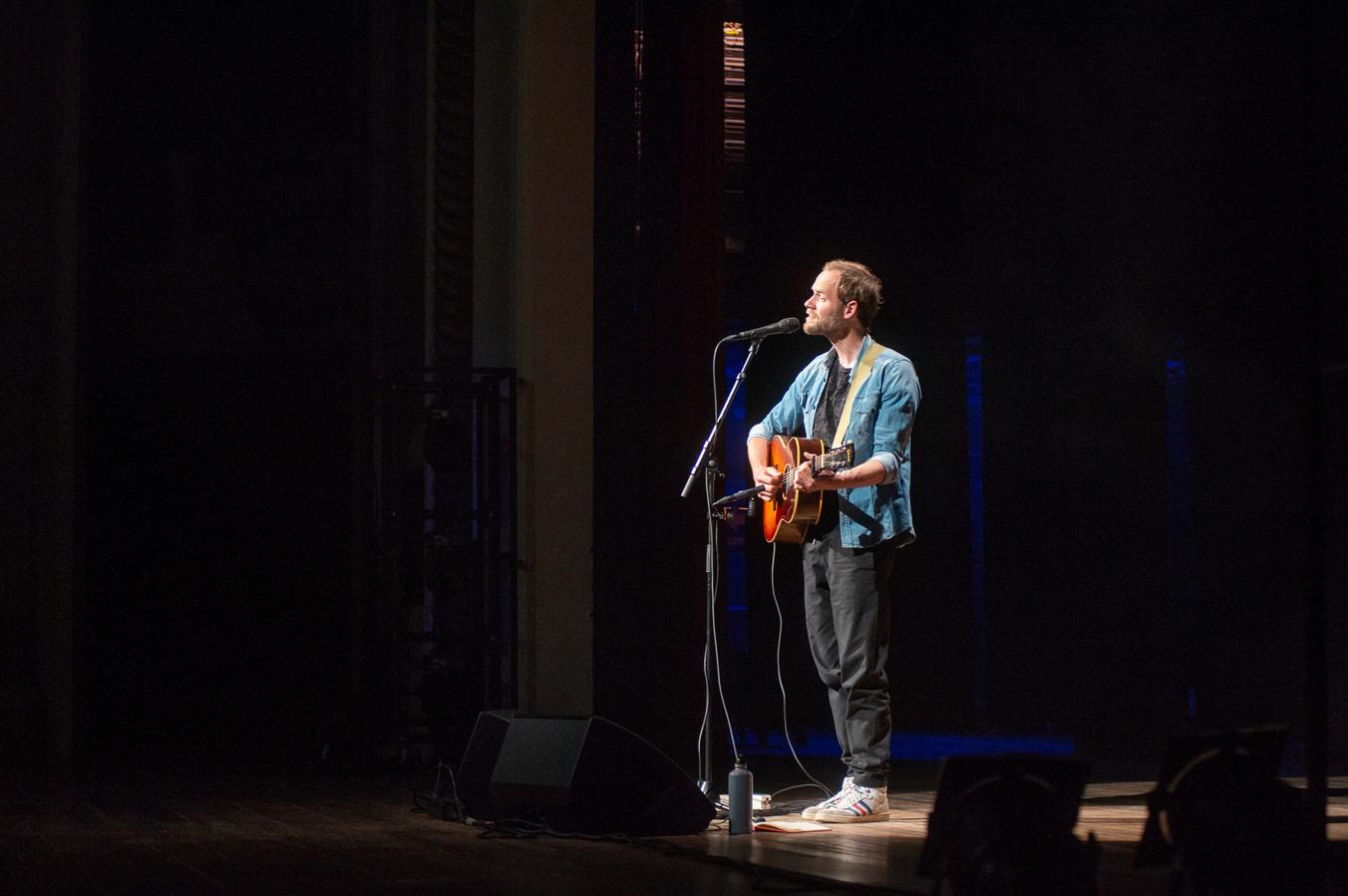 Wannes Cappelle kan eindelijk weer voor een live publiek spelen in een zaal.