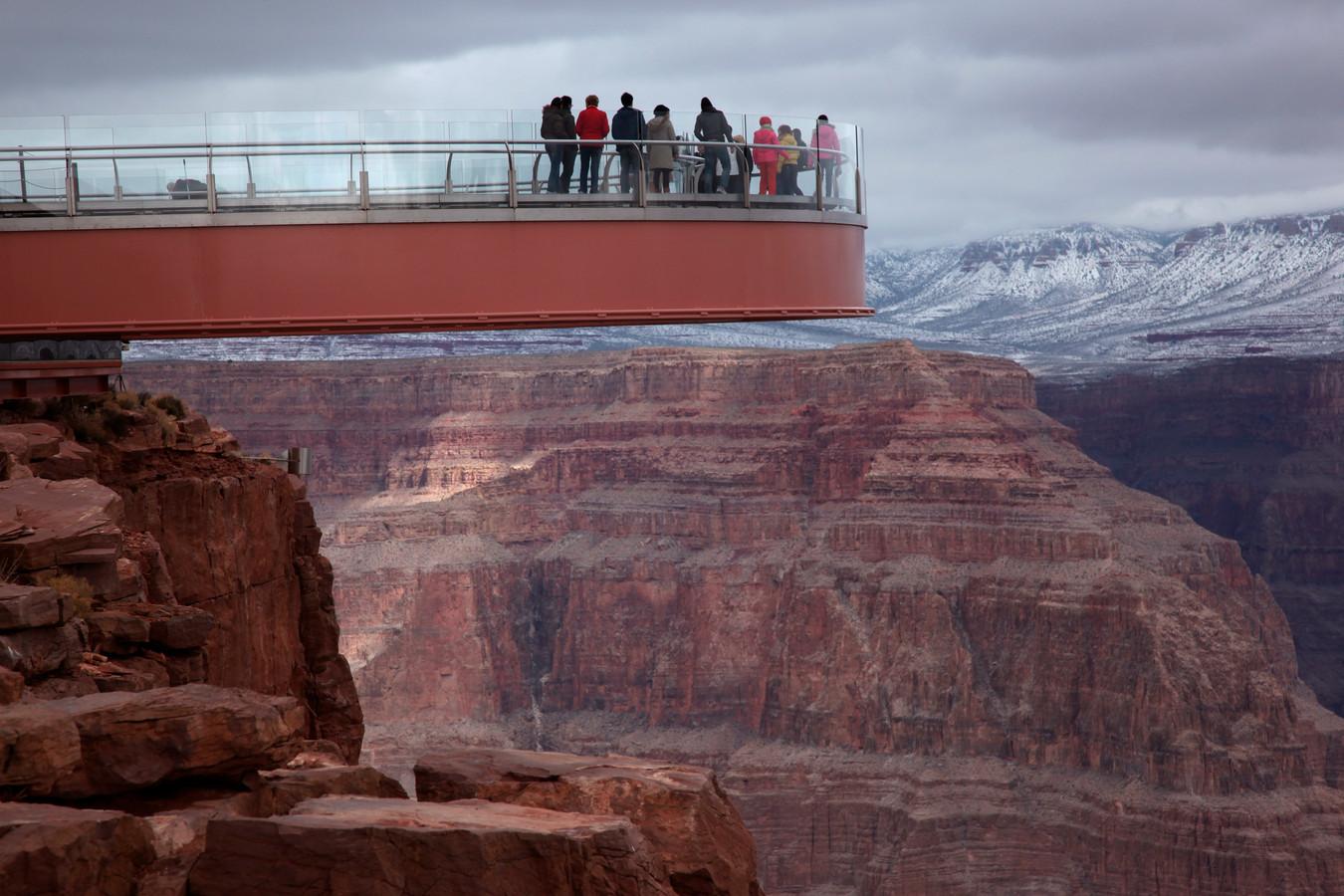 Het hoogtepunt in de Grand Canyon: de Skywalk.