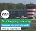 De CDA-advertentie op Instagram.