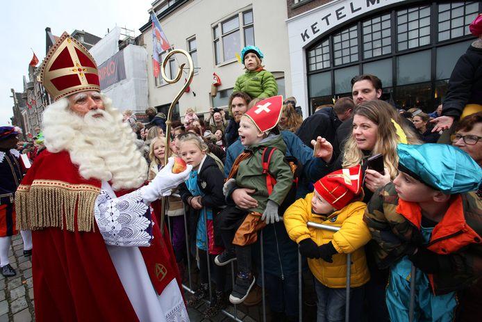 Sinterklaasintocht in Dordrecht in 2019.