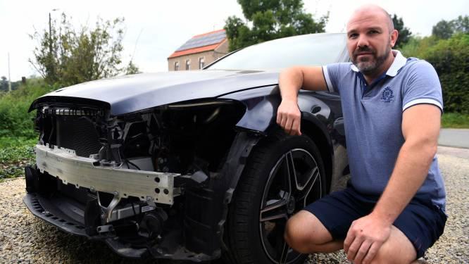 Dieven demonteren hele voorkant Mercedes: 'Dit doe je toch niet binnen enkele minuten?'