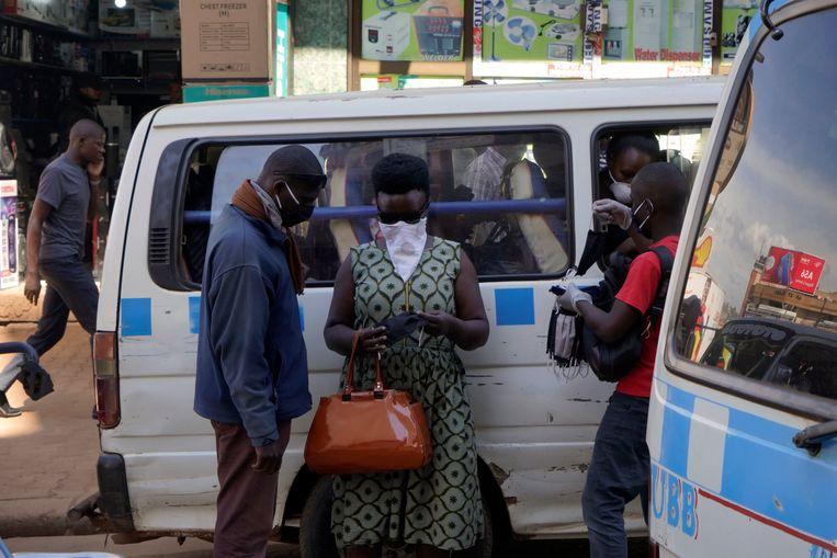 In Kampala. Beeld Michele Sibiloni