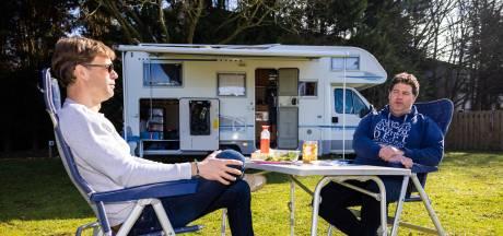 Fris? Zeker, maar vroege kampeerders genieten van heerlijk weekend op de camping