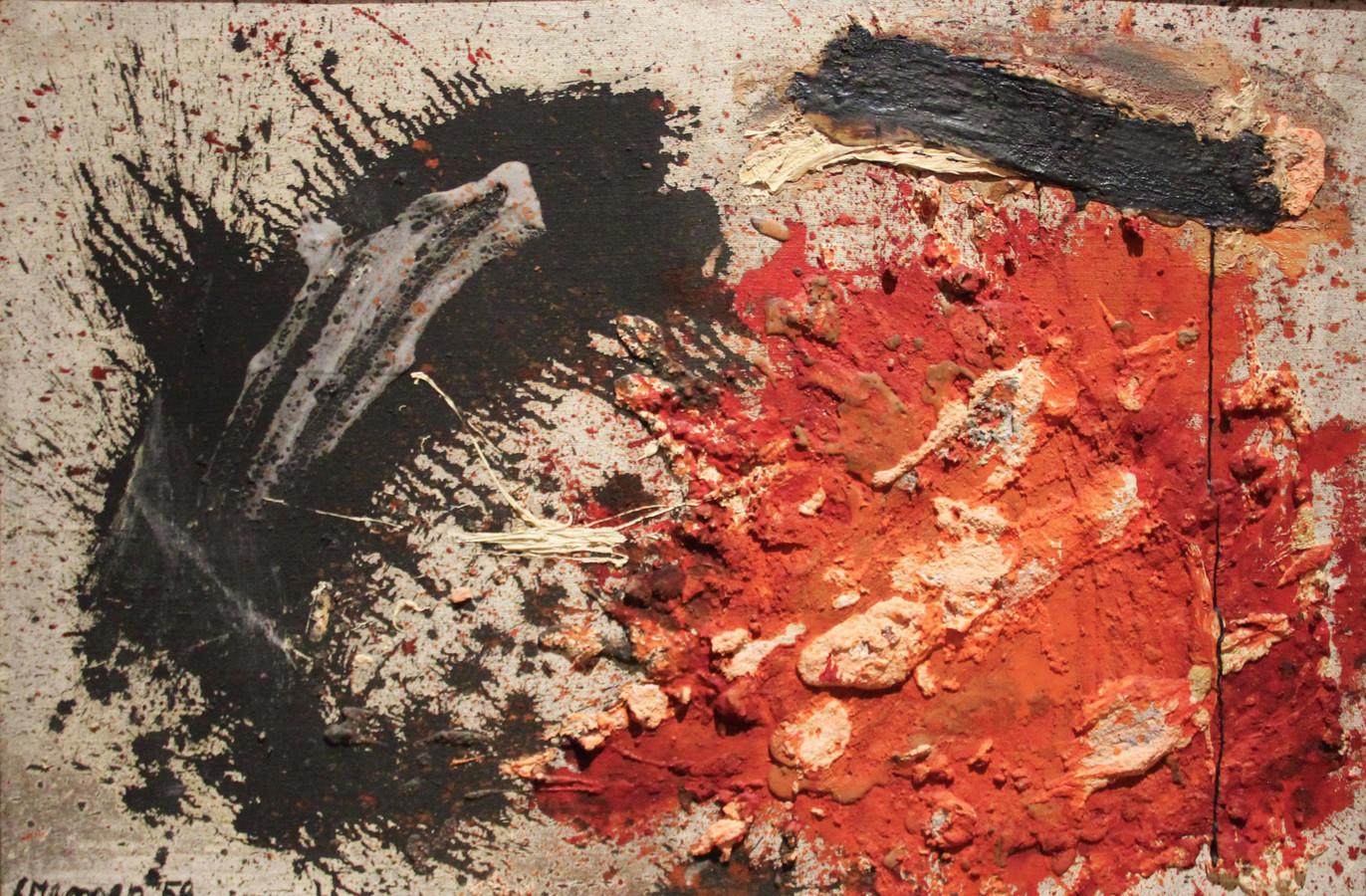 'Compositie' van Jan Cremer.