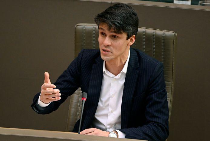 Minister van Media Benjamin Dalle (CD&V).